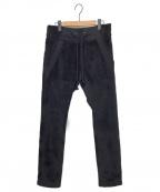 ripvanwinkle(リップヴァンウィンクル)の古着「ミラクルファーフリースパンツ」|ブラック
