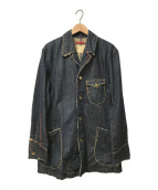 LEVIS REDLOOP(リーバイスレッドループ)の古着「デニムカバーオール」 インディゴ