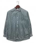 WELLDER(ウェルダー)の古着「Standard Shirt」 スカイブルー