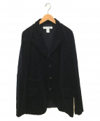 COMME des GARCONS SHIRT(コムデギャルソンシャツ)の古着「コーデュロイワークジャケット」|ネイビー