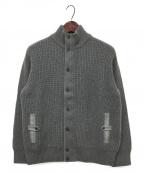 LORO PIANA(ロロピアーナ)の古着「カシミヤジップブルゾン」 グレー