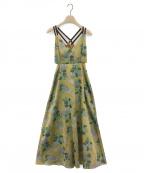 Ameri(アメリ)の古着「BERRY JACQUARD DRESS」