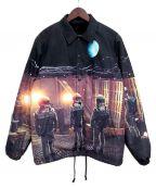 UNDERCOVER()の古着「裏ボアコーチジャケット 」|ブラック