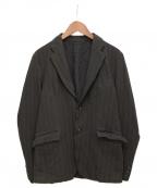 COMME des GARCONS HOMME()の古着「縮絨セットアップ」 ブラック
