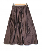 IENA(イエナ)の古着「AIDAタフタギャザースカート」 パープル