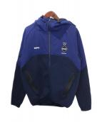 F.C.Real Bristol(エフシーレアルブリストル)の古着「VENTILATION HOODIE」|ネイビー