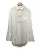 ()の古着「シルクシャツ」|ホワイト