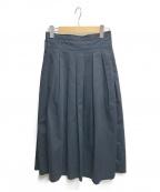 GRANDMA MAMA DAUGHTER(グランマママドーター)の古着「チノスカート」|ネイビー