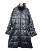 ()の古着「リディアパーカーダウンコート」 ネイビー
