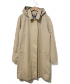 Burberrys(バーバリーズ)の古着「[OLD]英国製ステンカラーコート」|ベージュ