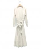 TSURU by MARIKO OIKAWA(ツルバイマリコオイカワ)の古着「ロングニットワンピース」