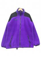 Columbia()の古着「フリースジャケット」 パープル