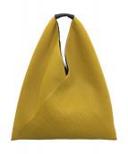MM6 Maison Margiela(エムエムシックス メゾンマルジェラ)の古着「ジャパニーズトートバッグ」|イエロー