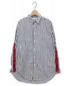 Americana(アメリカーナ)の古着「テープツキ1ポケシャツ」