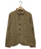 45R(フォーティファイブアール)の古着「インドうすネルのシャツジャケット」