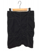 Jean Paul GAULTIER(ジャンポールゴルチエ)の古着「スカート」|ブラック