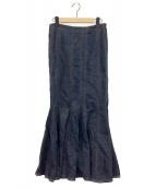 ()の古着「デニムマキシスカート」