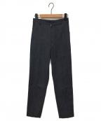 YORI(ヨリ)の古着「トラウザーデニム風パンツ」