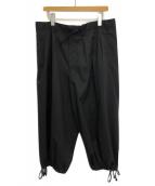()の古着「バルーンパンツ」|ブラック