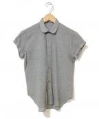 DIOR HOMME()の古着「半コンパクトシャツ」|グレー