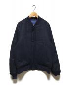 ()の古着「リバーシブルNA-1ダウンジャケット」 ネイビー