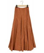 CP Shades×Ron Herman(シーピーシェイズ x ロンハーマン)の古着「コーデュロイスカート」|ブラウン