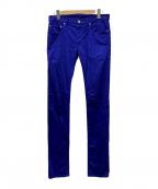 DIOR HOMME(ディオール オム)の古着「カラーパンツ」 ブルー
