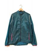 ()の古着「ライトウエイトドットランニングジャケット」 ネイビー