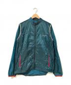 GYAKUSOU(ギャクソウ)の古着「ライトウエイトドットランニングジャケット」 ネイビー