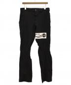 COMME des GARCONS HOMME PLUS(コムデギャルソンオムプリュス)の古着「カスタム縮絨パンツ」 ブラック
