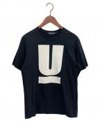 UNDERCOVER(アンダーカバー)の古着「ロゴTシャツ」|ブラック