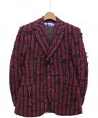 JUNYA WATANABE COMME des GARCONS MAN(ジュンヤワタナベコムデギャルソンマン)の古着「3Bジャケット」|パープル
