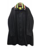 RAF SIMONS(ラフシモンズ)の古着「コート」|ブラック