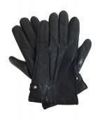 LOEWE(ロエベ)の古着「レザーグローブ」|ブラック