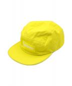 ()の古着「twill camp cap」 イエロー