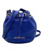 MICHAEL KORS(マイケルコース)の古着「巾着ショルダーバッグ」|ブルー