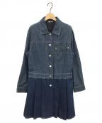 MIU MIU(ミュウミュウ)の古着「デニムシャツワンピース」