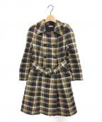 MIU MIU()の古着「チェックコート」