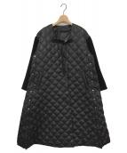 muller of yoshiokubo(ミュラーオブヨシオクボ)の古着「ベンダウンキルティングコート」|ブラック