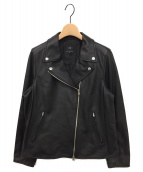 23区(ニジュウサンク)の古着「シープレザーライダースジャケット」|ブラック