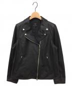 23区()の古着「シープレザーライダースジャケット」|ブラック