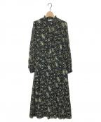 NEMIKA()の古着「ブラウスワンピース」|ブラック