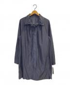 Leilian(レリアン)の古着「シャツワンピース」 ネイビー