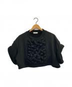 FACETASM(ファセッタズム)の古着「スウェット」 ブラック