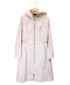 TOCCA(トッカ)の古着「ライナー付フーデッドコート」|ピンク