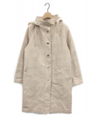 MACKINTOSH(マッキントッシュ)の古着「フーデッドコート」|ベージュ