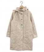 MACKINTOSH()の古着「フーデッドコート」 ベージュ
