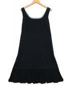 ()の古着「N/Sワンピース」|ブラック