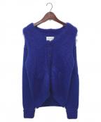 Maison Margiela 10(メゾンマルジェラ 10)の古着「ニットカーディガン」 ブルー