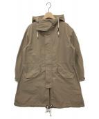 MACPHEE(マカフィー)の古着「メモリーツイルモッズコート」|ベージュ